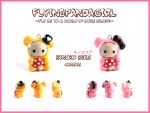 Kinoko Bear Charms by FlyingPandaGirl