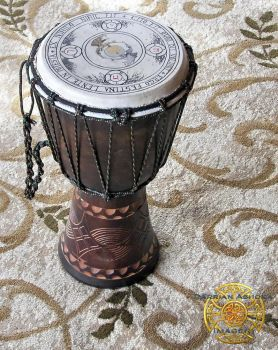 Dragon Drum side by Darrian-Ashoka