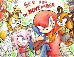 Sonic Boom Traditinal Fanart by Fly-Sky-High