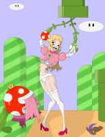 Peach vs Plants by BackupHero