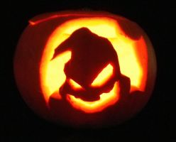 Oogie Boogie Pumpkin by McNish95