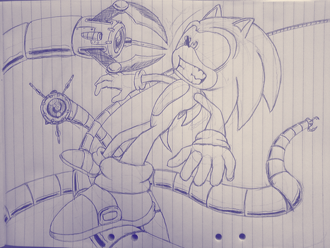 Sonic vs. Dr.Octopus? by GabrielFrag