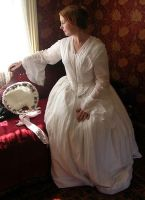 Victorian dress - 1850s by glittersweet