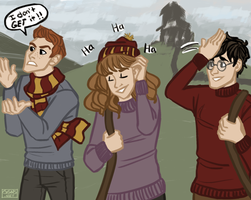 trio silliness by ggns