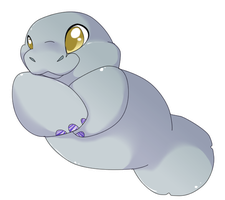 Chi-Chi the Manatee by MBPanther