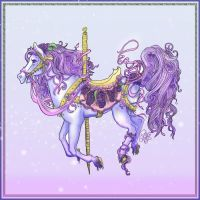 Flower Carousel -Lilac- by WolfessKiss