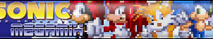 Sonic Megamix Fan Button by Mac-Does-Art