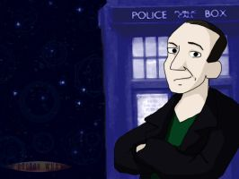 Dr Who Caricature Wallpaper -9 by CrimsonReach