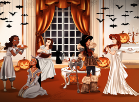 DP - Halloween Party by selinmarsou