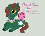 Thank You for 3K and more by AskPonyMacau