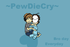 Pewdiecry broday everyday by XDarkLemonX