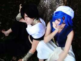 Magi: The Labyrinth of Magic by x-Crys-x