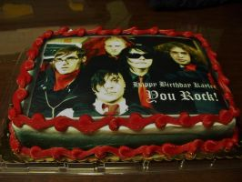My Chemical Romance Cake by kaymirtas