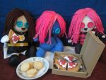 Girls Pizza party by Rei2jewels