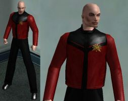 CoH: Jean Luc Picard by OrionSTARB0Y