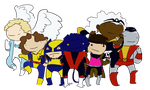 Stupid Little Fat X-Men by IllustratedJai