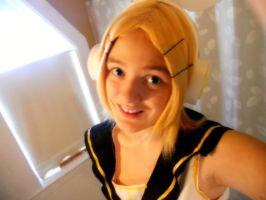Rin Kagamine WIP Cosplay 5 by dawnleapord