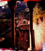 Through the window by Lomomaniac