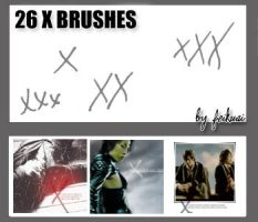 26 X Brushes by thexunknown
