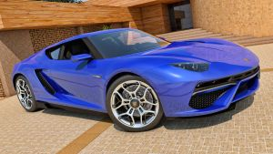 2014 Lamborghini Asterion Concept by SamCurry