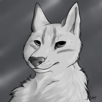 James Headshot - Contest Prize by silver-moonwolf