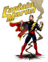 LIID Week 87: If They Mated - Captain Marvel! by johntrumbull