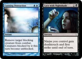 Cunning Distraction / Lace with Nightshade by JTMS