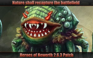 Heroes of Newerth 2.6.3 Patch Screen by Moonymage