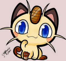 Meowth by RocketGrunts