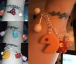 Finished Polymer Pac-Man Bracelet - ON by missimoinsane