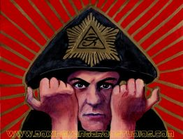 Aleister Crowley by asamamoru