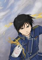 Roy Mustang by SamuraiWARRIOR7