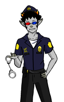 Cop sollux by wild-catgirl-washu