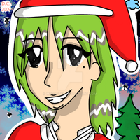 Christmas Girl by MsPastel