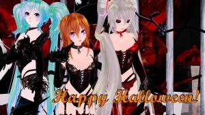 MMD:. This Is Halloween |Tda Devil's| by LadyLukaOwO