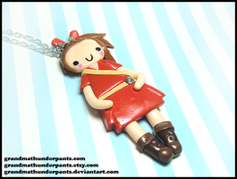 Arrietty Necklace by GrandmaThunderpants