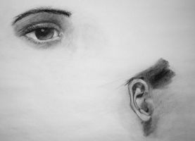 Eye and Ear Study by Dewheart85