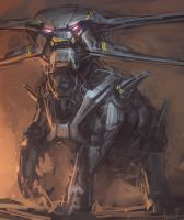 Mech Dog Thing by blee-d