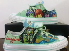 The Beatles On Converse by alcat2021