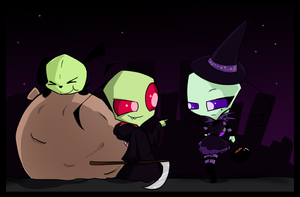 Halloweeny Doom by MimiMarieT