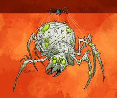 Halloween 15: Giant Spider by Monster-Man-08