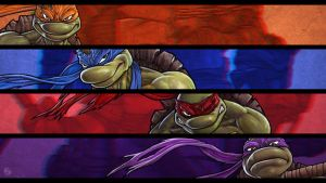 TMNT by DeadPea