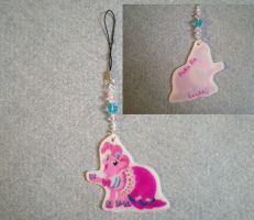 MLP Gala Pinkie Pie Cell Phone Charm FOR SALE by AmyAnnie14