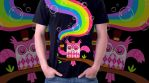 Drink the Rainbow Tee by fuish