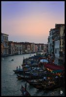 Grand Canal Sunset 2 by IraDivina