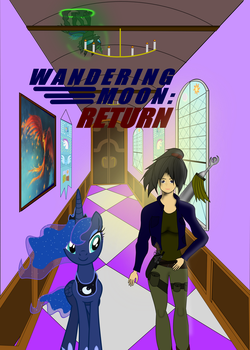 Cover for ed2481's story: 'Wandering Moon: Return' by markoatonc