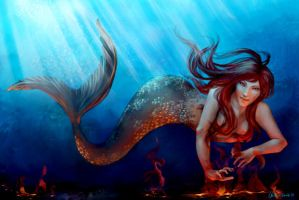 Mermaid - again by Nomimo