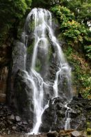 Azores Landscape 2012 Waterfall by AlexVentura