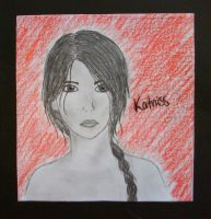 Katniss by art-is-an-expression
