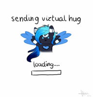 Lum sends you a hug! (gif) by Lumicorn